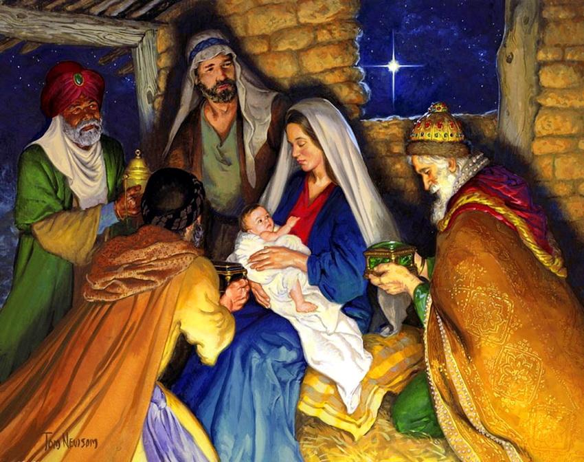 Библейские картинки рождение иисуса христа