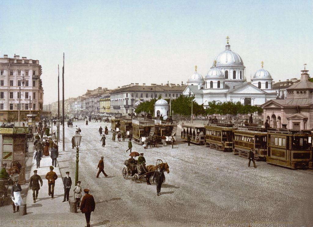 Площадь Восстания, Санкт-Петербург - История